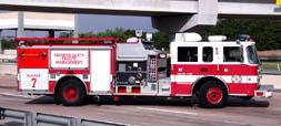 Fire Department-Based Vehicles for Traffic Control